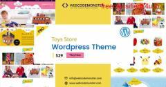 Toys Store WordPress Theme