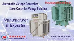 Renowned Servo Controlled Voltage Stabilizer Manufacturers, Suppliers, Exporters, Traders
