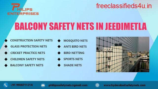 Balcony Safety Nets in Jeedimetla