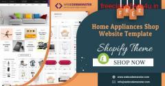 Kitchen Appliance Shopify Theme