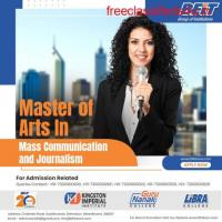 MA in Mass Communication and Journalism