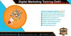 Best Digital Marketing Training Institute in Delhi