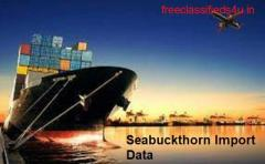 How seabuckthorn import data is helpful?