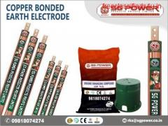A Great Copper Bonded Earthing Electrode