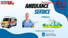 ICU Set-up by Jansewa Ambulance service in Mokama