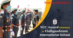 NCC Award Ceremony at Vidhyashram International School