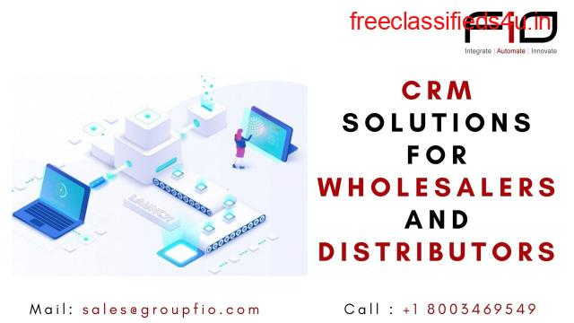 CRM solutions for wholesalers and distributors - Group FiO