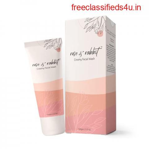 Rose Face Wash – Creamy Facial Wash