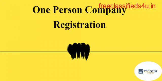 One Person Company Registration - RegisterExperts