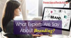 What Do Experts Say About Branding?