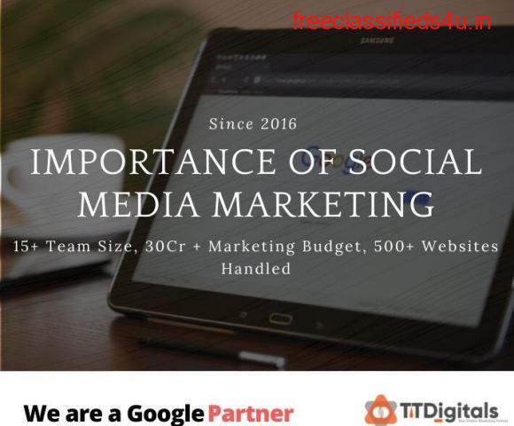 Importance Of Social Media Marketing - TTDigitals