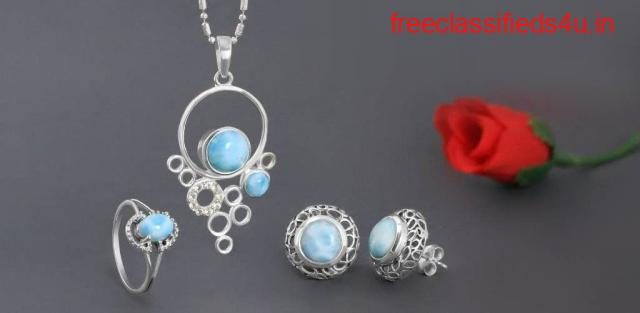 Wholesale Larimar Stone Jewelry From Rananjay Exports