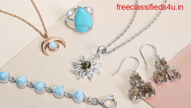 Sterling gemstone Jewelry By Rananjay Exports