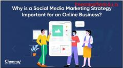Why is a social media marketing strategy important for an online business?