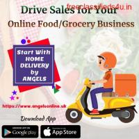 Drive Sales of your Restaurant and Grocery  Business Online