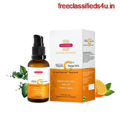 Concentrated Vitamin C Serum 20% - Inveda