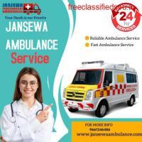 Quick Ambulance Service in Buxar, Bihar by Jansewa