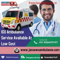 ICU Ambulance Service in Katihar, Bihar by Jansewa