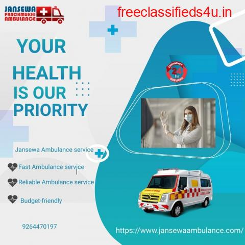 Reliable Ambulance Service in Darbhanga, Bihar by Jansewa