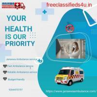 Trustworthy Ambulance Service in Gaya, Bihar by Jansewa