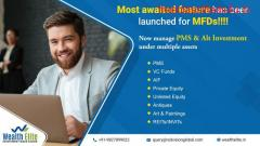 Mutual fund software for financial report