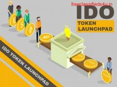 What services does the IDO Token Launchpad Service provide?