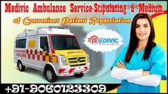 Take the Best Ambulance Service in Patna – Medivic
