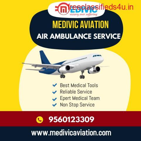 Choose Medivic Air Ambulance Service in Guwahati for Safe Shifting