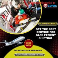 Use Upgraded Amenities by Medivic Air Ambulance in Kolkata
