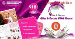 Gift Shop HTML Theme