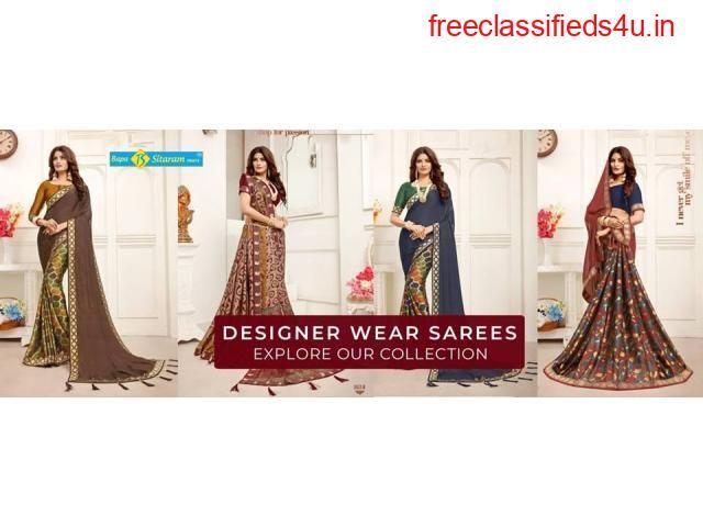 Catalogue Saree Manufacturer in Surat