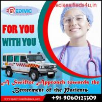 Book Supreme Ambulance Service in Ranchi by Medivic