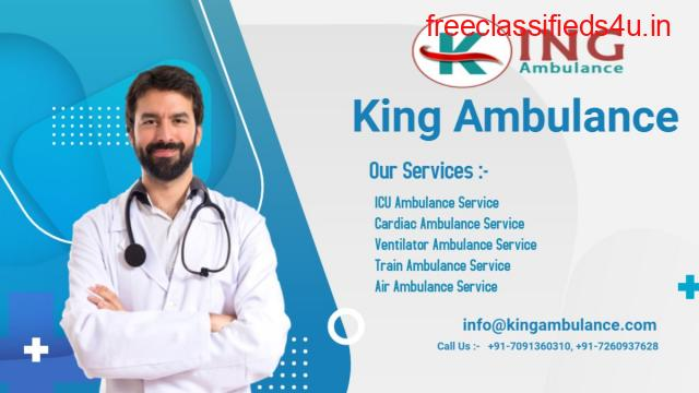 King Ambulance in Varanasi is Available with Experienced Medical Staff