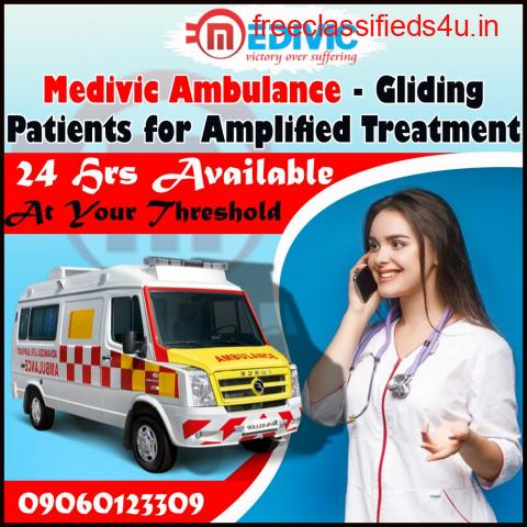 Most Secured and Hi-Tech Ambulance Service in Kolkata by Medivic