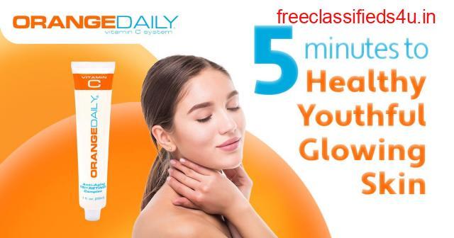 Anti-Aging Tri Retinol Cream | For Reducing Fine Lines & Wrinkles | Orange Daily