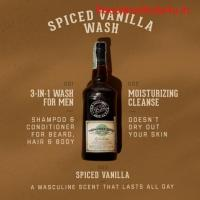 Professional Grade 3-in-1 Body Wash For Men | 1821 Man Made