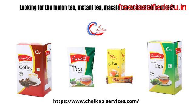 Looking for the lemon tea, instant tea, masala tea and coffee sachets?