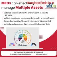 What features Mutual Fund Software offers in multiple assets?