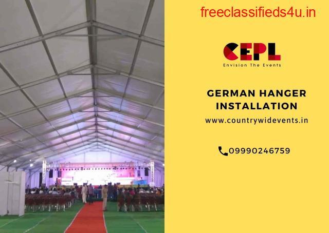 German Hanger Installation