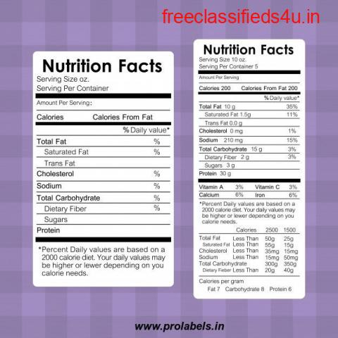 Importance of Food and Beverages Labels India   Bangladesh - Prolabels