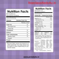 Importance of Food and Beverages Labels India | Bangladesh - Prolabels