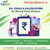 Which Mutual Fund Software is suitable for complicated calculations?