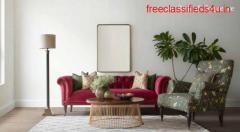 Buy Fabric Sofa Online - Gulmohar Lane
