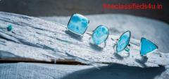 Unique larimar stone jewelry at wholesale prices