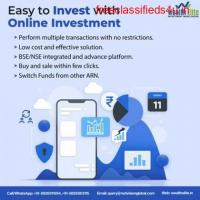 Which the best Mutual Fund Software gives online investment?