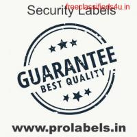 Security Labels at Prolabels India | Manufacturer and suppliers | Pharma labels Rajasthan