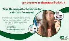 The Best Solution for Hair Loss- Homeopathy Medicine