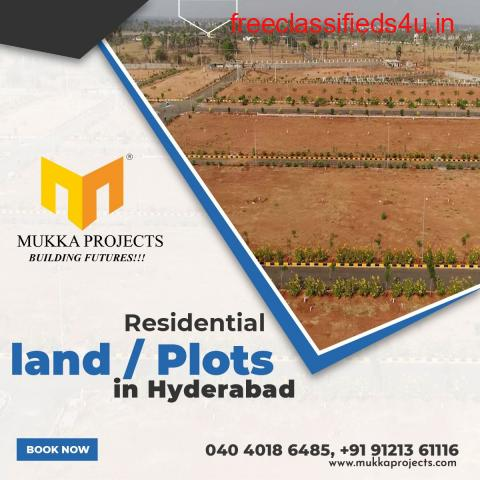 Residential land / Plots in Hyderabad   Mukka Projects