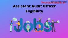 Assistant audit officer eligibility