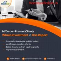 How Mutual fund software for distributors reports for the various financial years?